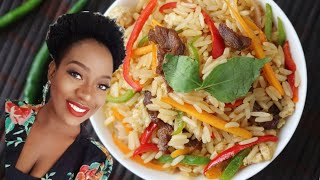 BEEF STIR FRY RICE | LEFT OVER MAKEOVER
