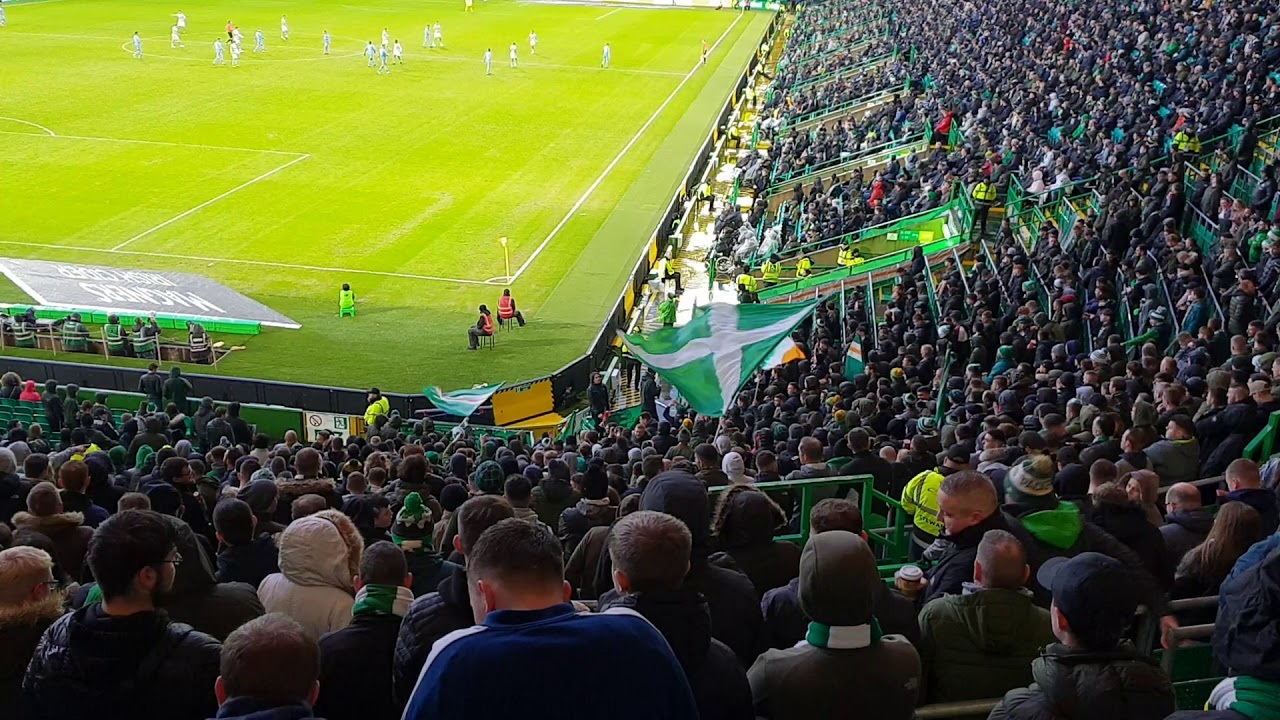 Green brigade new song celtic vs dundee