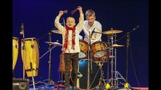 Шоу барабанщиков  - братья : Илья и Даниил Варфоломеевы - Джаз над морем 2018