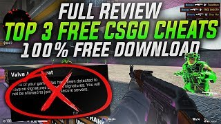 BEST TOP 3 FŔEE CSGO CHEATS FOR 2021 | REVIEW + DOWNLOAD