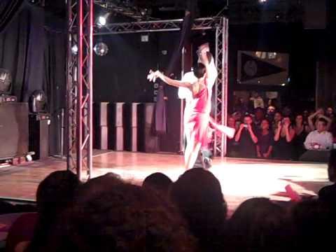 Del Dominguez & Laura Flores/2nd Place Latin Street Salsa Open Dance Contest 2011 3rd Round