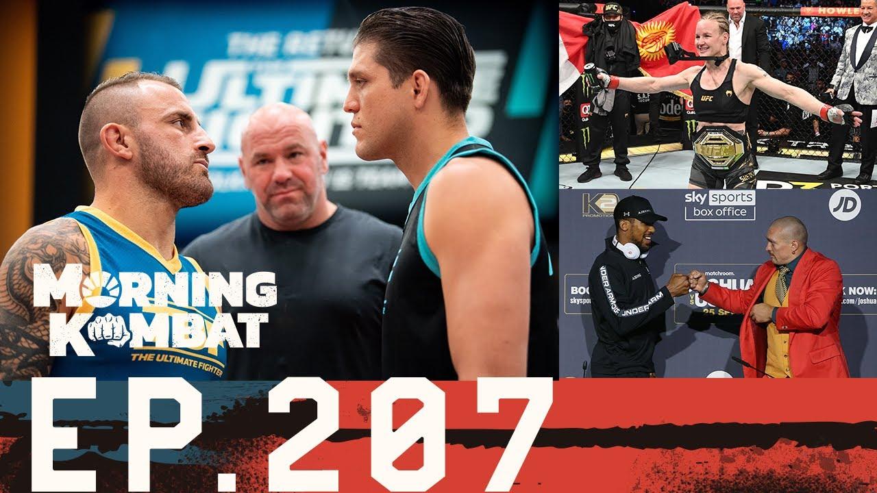 Download UFC 266: Volkanovski-Ortega, Diaz-Lawler 2   Joshua-Usyk   Quick Hitters   Morning Kombat EP 207