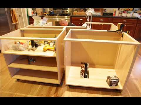 How To Build A Kitchen Island With A Sink Youtube