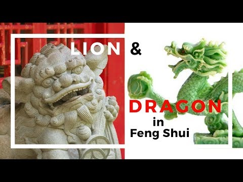 The Lion And Dragon In Feng Shui Application