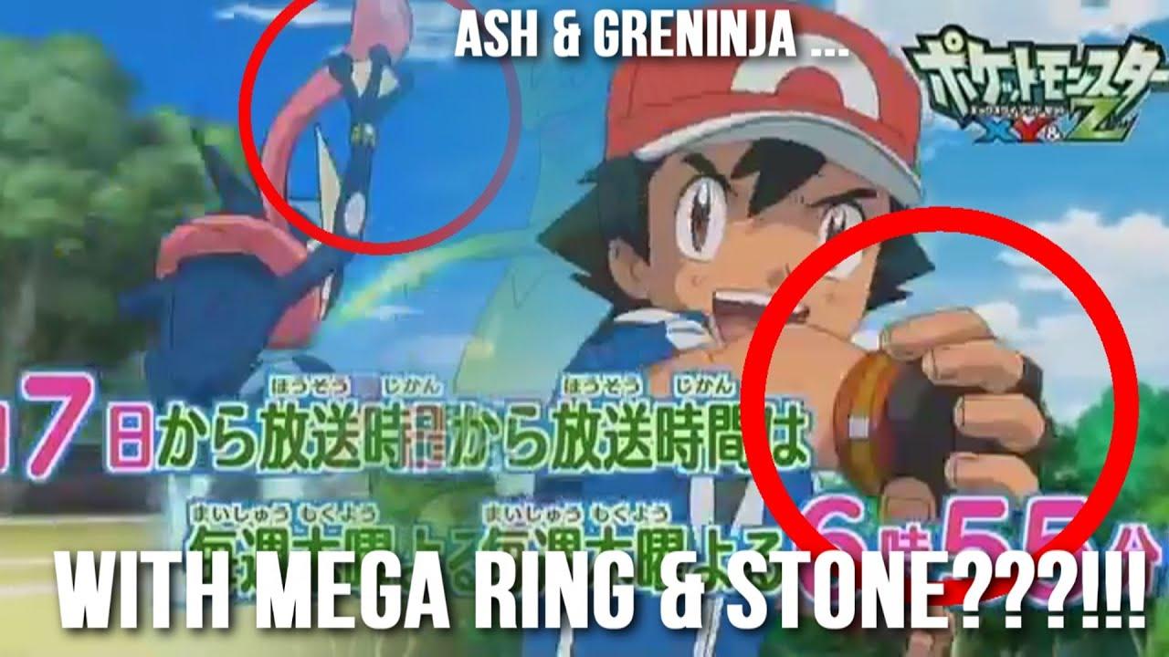 ash greninja with mega stone ring pokemon xy z