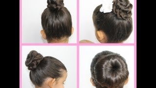 4 coques para ficar linda no verão / Penteados