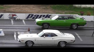 VANISHING POINT 1970 CHALLENGER 383 vs 1971 440 ROAD RUNNER