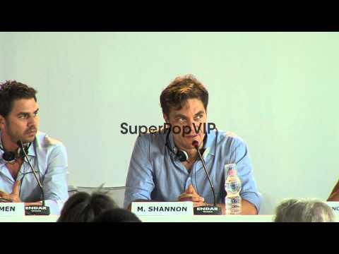 Ariel Vromen, Michael Shannon at The Iceman Press Confere...