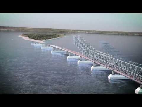 Видео презентация моста через Керченский пролив