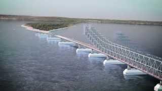 Видео презентация моста через Керченский пролив(В нашем распоряжении оказалось видео о будущем транспортном переходе между материковой частью России..., 2014-06-20T10:52:45.000Z)