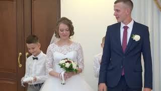 ЗАГС Солнцево 10авг 2018 Елена и Илья