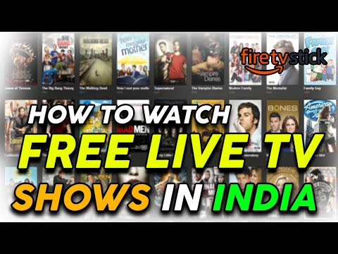 Free Live Tv Channels & Shows || Amazon Fire Stick (Hindi)