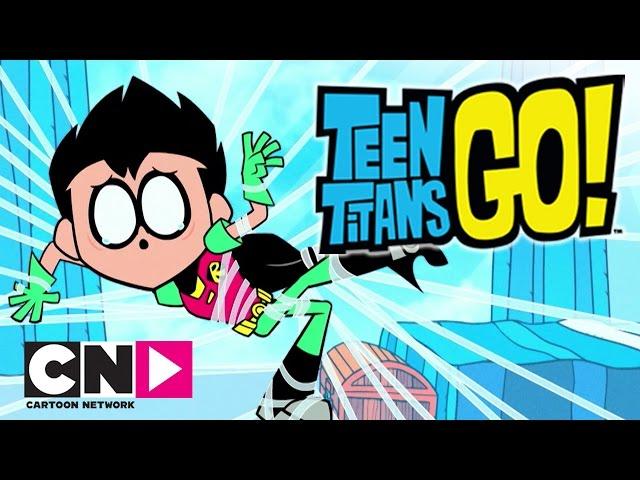Малки титани: В готовност! | Ден на шегата | Cartoon Network