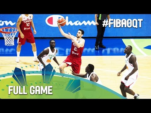 Senegal v Turkey - Full Game - 2016 FIBA Olympic Qualifying Tournament - Philippines