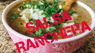 Salsa Ranchera  (Mexican Salsa Ranchera)