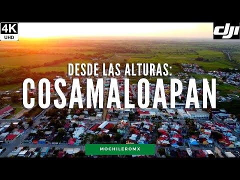 [4K] Cosamaloapan, Veracruz desde las alturas | DRONE DJI MINI ULTRA HD 4K | MOCHILEROMX