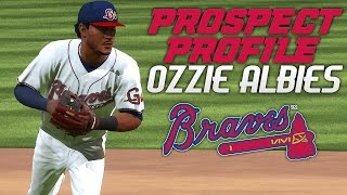 MLB The Show 17: Braves Franchise - Ozzie Albies Prospect Profile