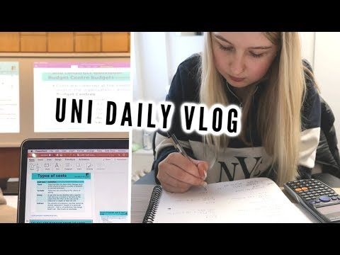DAY IN THE LIFE AT UNIVERSITY | lectures, food haul & lots of work | AD