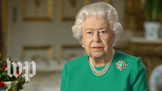 Defining moments for the queen: A brief history of Elizabeth's addresses to the nation