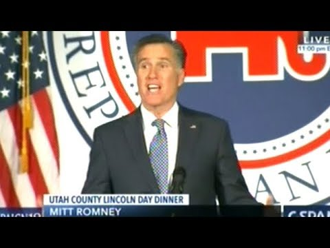 "Mitt Romney ""To Lose A Child To Senseless Debased Evil Is Beyond Our Ability To Comprehend"""