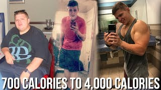 How I Went From Eating 700 Calories to 4,000 Calories (Still Lost Weight)