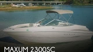 [UNAVAILABLE] Used 2001 Maxum 2300SC in Sarasota, Florida