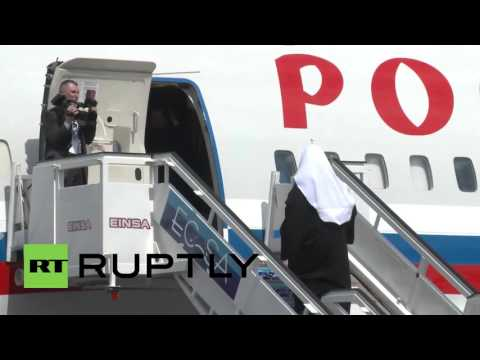 Cuba: Raul Castro bids Patriarch Kirill farewell as he leaves for Paraguay