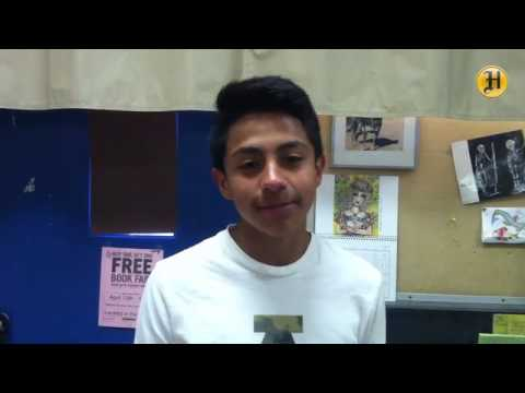 Walter Colton 7th grader Cristian Castillo talks about his upcoming field trip to the Academy of Sci