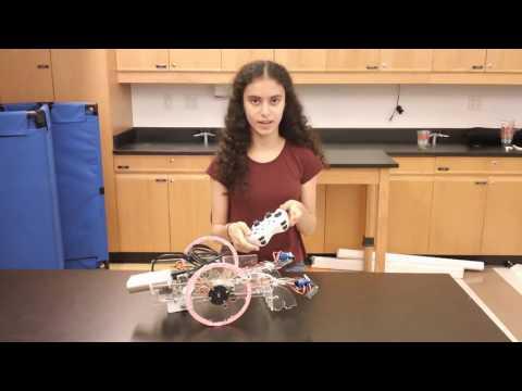 Maya's Final Video! Tabletop Robot