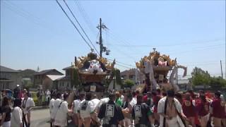 神吉八幡神社国恩祭 神吉、大国練り合わせ(平成29年4月30日)