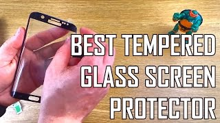 THE BEST Tempered Glass Screen Protector for the Samsung Galaxy S7 Edge! Reviewed & How to Install
