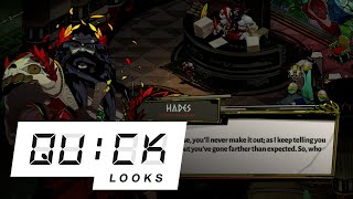 Hades: Quick Look (Video Game Video Review)