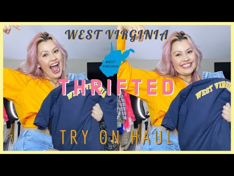 TRY ON THRIFT HAUL FROM WEST VIRGINIA ☆