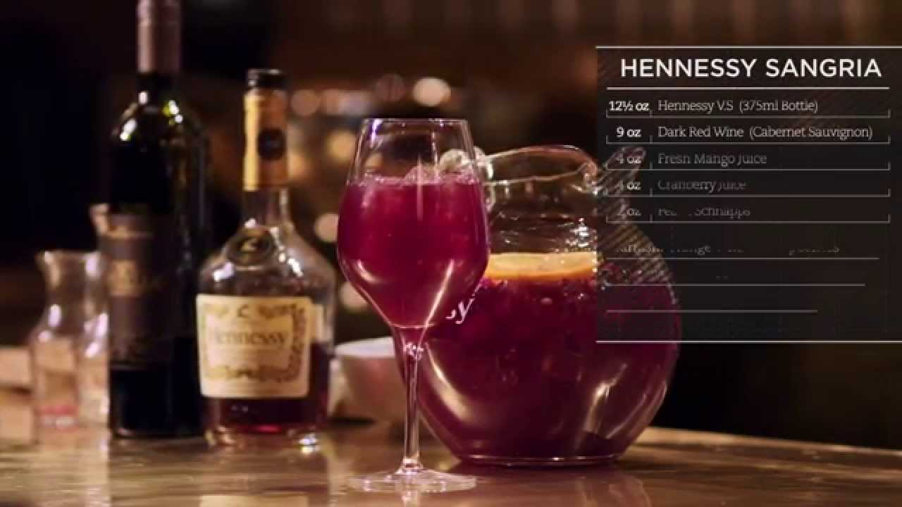 Hennessy Recipes: Hennessy Sangria