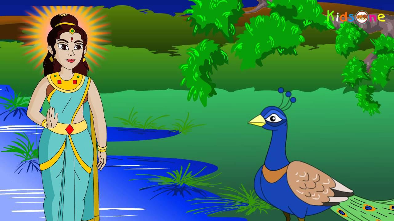 Peacock || Telugu Animated Stories for Kids || KidsOne