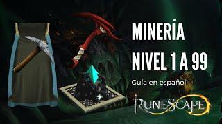 Guía de minería (runescape 3 - Español)