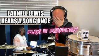Drum Teacher Reacts: Larnell Lewis Hears A Song Once And Plays It Perfectly (2020 Reaction)