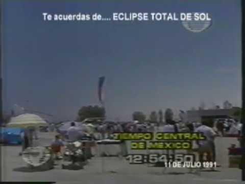 Te acuerdas de... Eclipse total de sol 11 de julio 1991