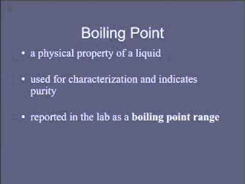 5  Boiling Point
