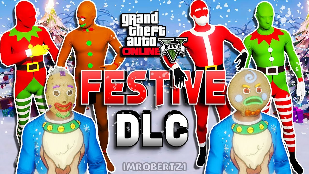 All Christmas Mask Gta 5.All New Surprise Festive Dlc All Clothing Mask Hats And