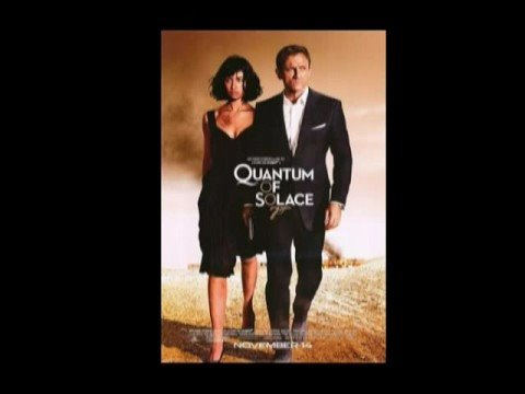 Quantum of Solace soundtrack- Somebody wants to kill you