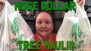 HUGE DOLLAR TREE HAUL! Christmas Miniatures, Cozy Socks, and More!
