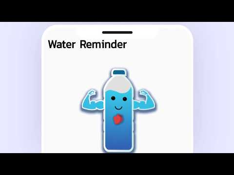💧 Water Reminder App And Water Tracker, Daily Water Intake And Water Drinking