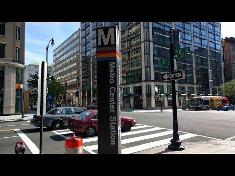 Metro Center Metro Station - Washington DC Metro Blue/Orange/Red/Silver lines