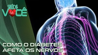No ciático diabetes e dor nervo