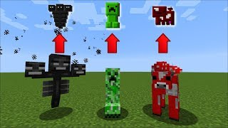 Minecraft TURNING EVERY MOB IN TO AN ITEM !! INVENTORY PETS SURVIVAL !! Minecraft