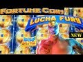 ⭐FORTUNE COIN⭐ First Look ⭐LUCHA FURY⭐ Live Play Free Spins
