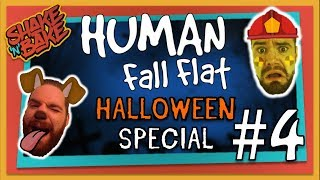 Human Fall Flat Halloween Special (Xbox One) | Trick or Treat?