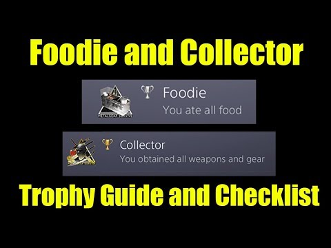 Metal Gear Survive- Foodie and Collector Trophy Guide/Checklist