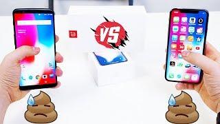 iPhone X vs OnePlus 5T - Шо то, шо это ХУ*НЯ. Стоит ли просирать 75 000 РУБЛЕЙ???